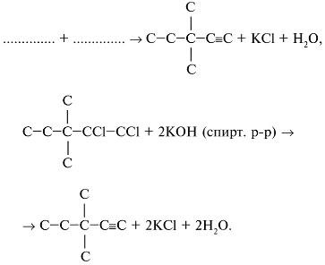 Решение качественных задач в курсе органической химии
