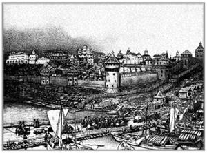 Московский Кремль в начале XVI в.