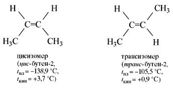 Химическая формула цис изопрена и транс изопрена